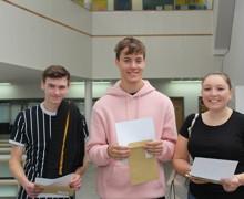 Kieran Barry (L), Matt Stevenson (M), Hannah Hunter (R)