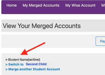 Merge Accounts