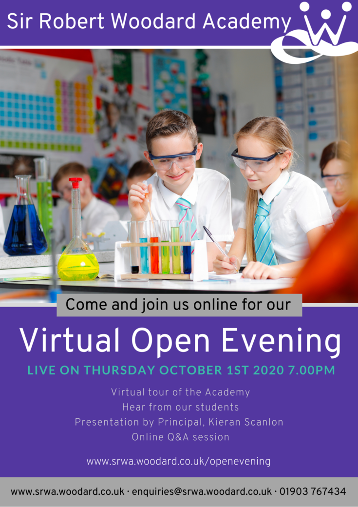 Open evening 2020small