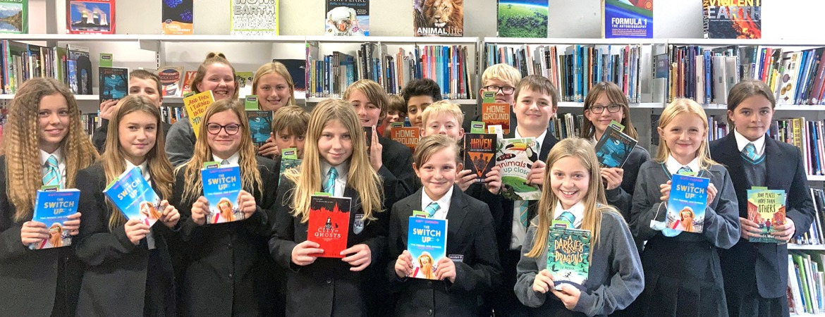 Library books y7